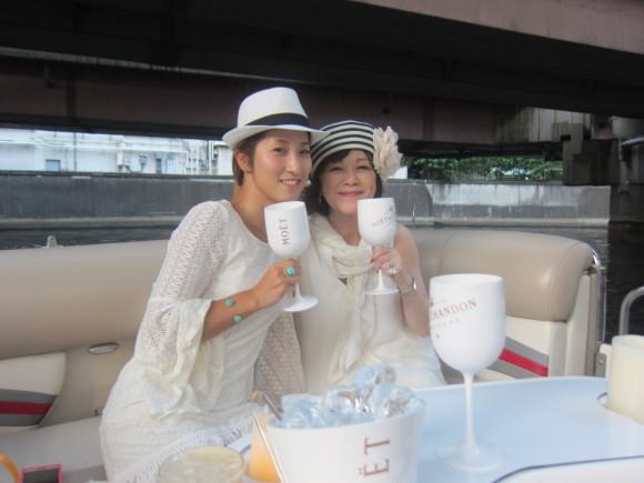 東京湾クルーズ with モエ・エ・シャンドン♪ _d0339889_21190782.jpg