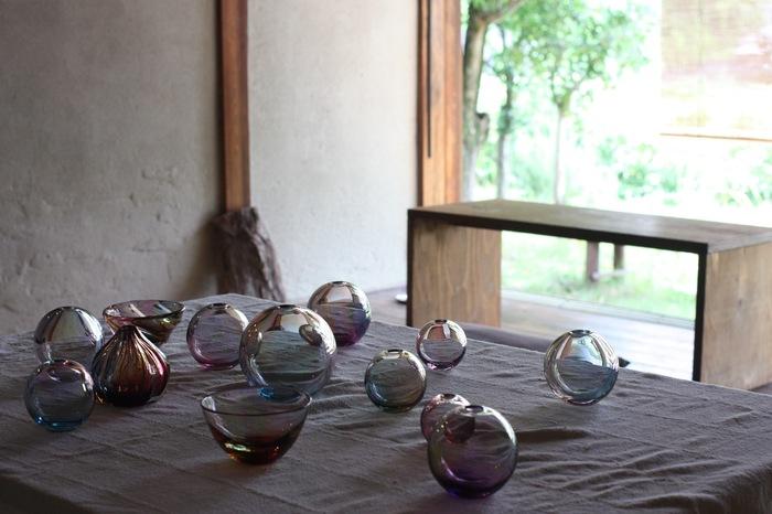 靏林舞美さんのガラス_d0210537_13411256.jpg