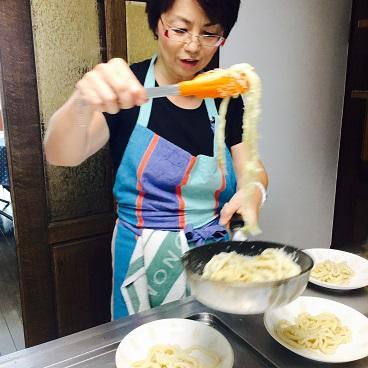 ノアさんの手打ちパスタレッスンで作る!食べる!食べる~~!!_b0060363_17184697.jpg