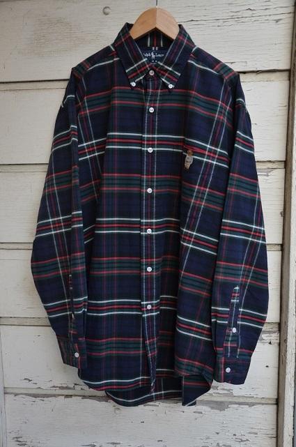 Ralph Laurenボタンダウンシャツ。_b0138479_19020452.jpg