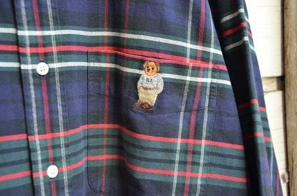 Ralph Laurenボタンダウンシャツ。_b0138479_19023002.jpg