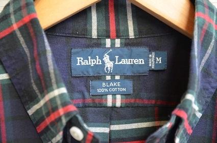 Ralph Laurenボタンダウンシャツ。_b0138479_19024699.jpg
