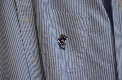 Ralph Laurenボタンダウンシャツ。_b0138479_19031938.jpg