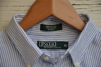 Ralph Laurenボタンダウンシャツ。_b0138479_19033615.jpg