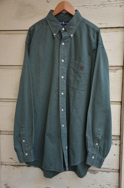 Ralph Laurenボタンダウンシャツ。_b0138479_19035185.jpg