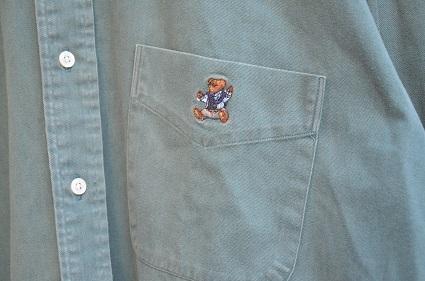 Ralph Laurenボタンダウンシャツ。_b0138479_19040775.jpg