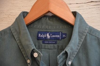 Ralph Laurenボタンダウンシャツ。_b0138479_19042149.jpg