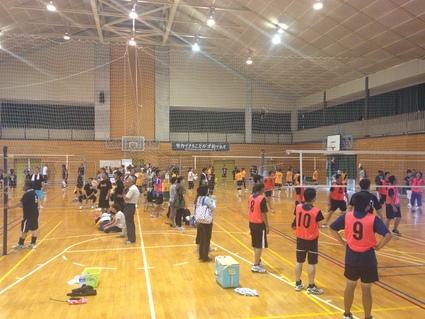 『 日和田町家庭バレーボール大会 』_f0259324_1755513.jpg