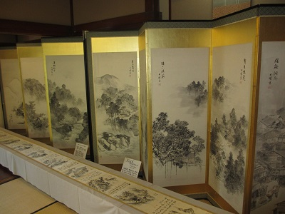 山中温泉画「十二勝・十勝」_f0289632_1451221.jpg