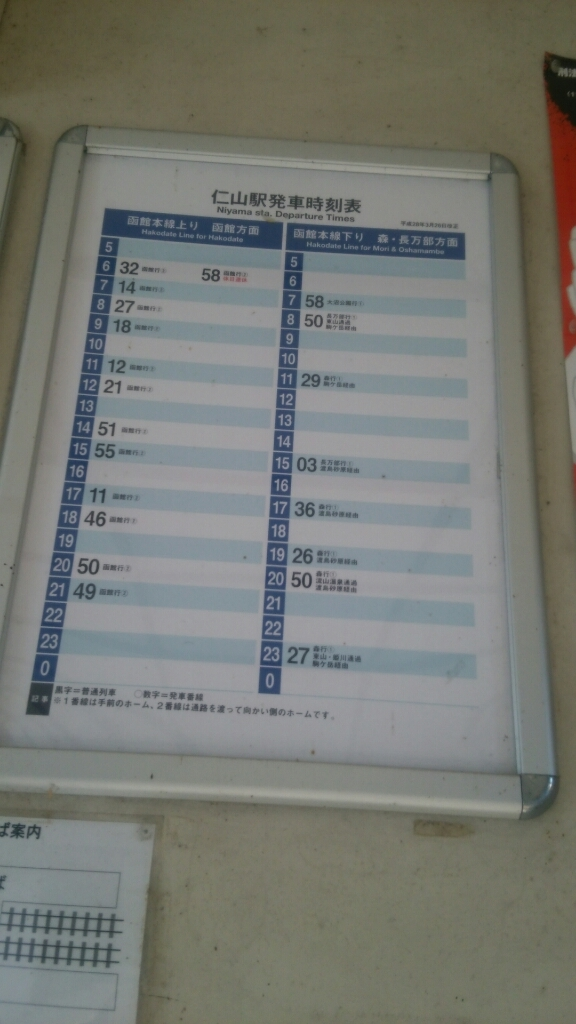 2016年8月14日(日)今朝の函館の気温と天気は。仁山駅のすぐそばに仁山温泉あじさいの湯_b0106766_06512286.jpg