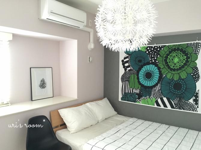 寝室のタペストリー模様替え!…そしてデンジャラスベッド!_a0341288_18041529.jpg