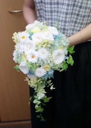 8月14日単発1DAYプリザーブドレッスン 贈呈花やブーケを手作りで 9月以降の開催日はリクエスト受付中です_a0042928_11433970.jpg