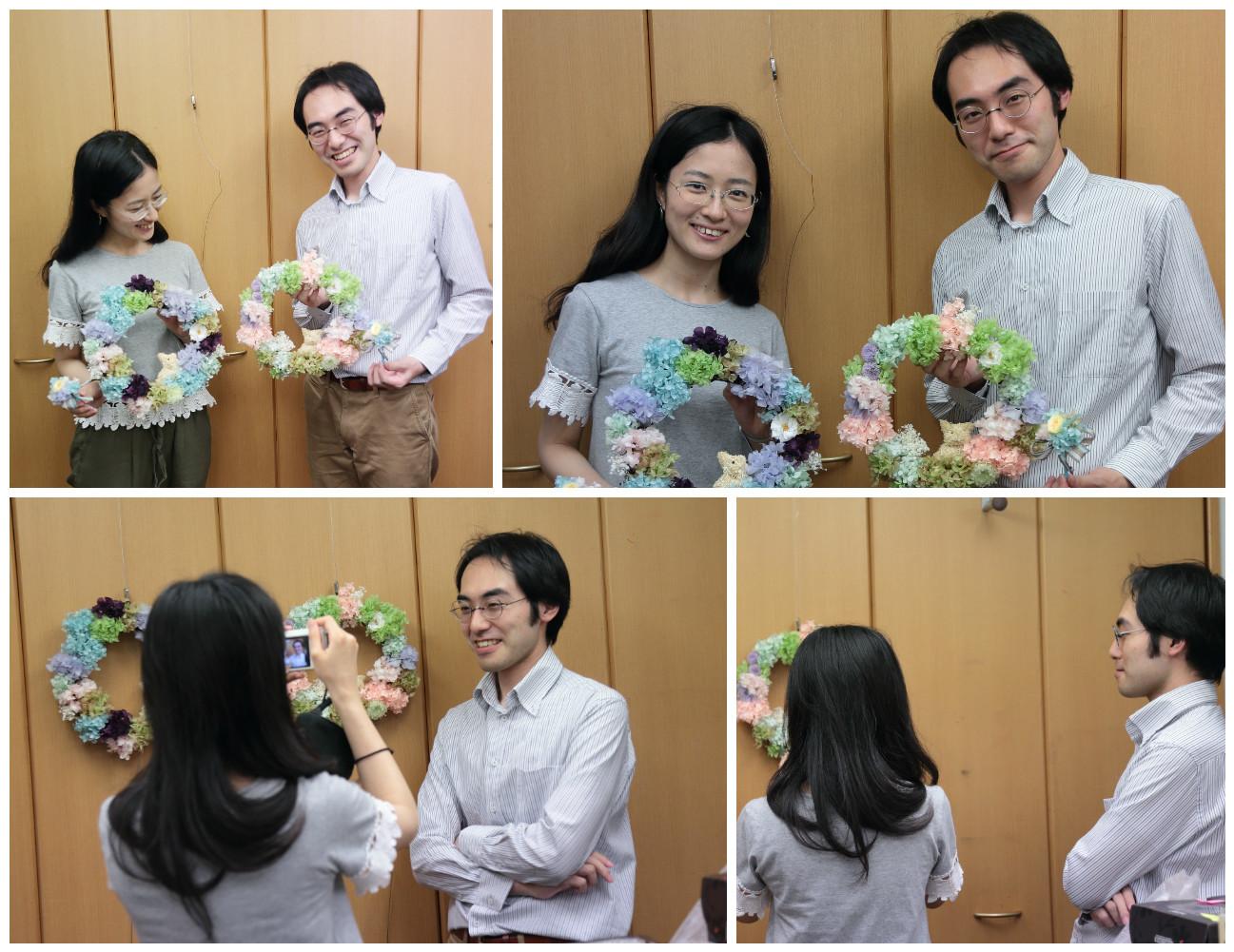 8月14日単発1DAYプリザーブドレッスン 贈呈花やブーケを手作りで 9月以降の開催日はリクエスト受付中です_a0042928_11440885.jpg