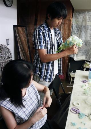 8月14日単発1DAYプリザーブドレッスン 贈呈花やブーケを手作りで 9月以降の開催日はリクエスト受付中です_a0042928_11453865.jpg