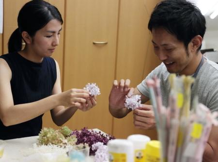 8月14日単発1DAYプリザーブドレッスン 贈呈花やブーケを手作りで 9月以降の開催日はリクエスト受付中です_a0042928_12091551.jpg