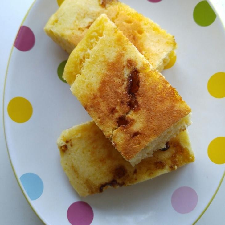 鹿児島黒糖&おからのパンケーキ_c0124528_06521823.jpg