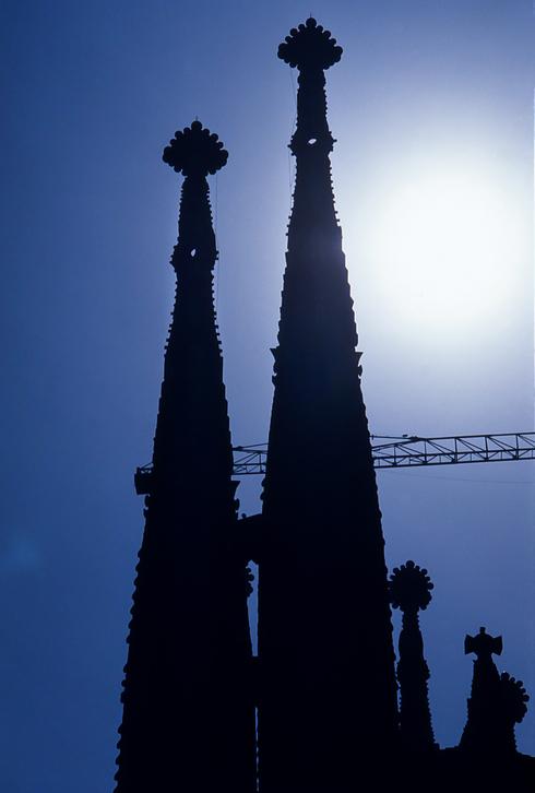 31年前のサグラダ・ファミリア教会_f0099102_17373959.jpg