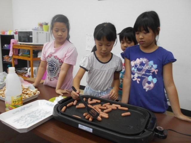 8月16日 Lunch Cooking_c0315908_19205762.jpg