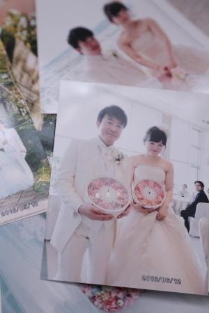新郎新婦様からのメール 熊本の花嫁様より、シンデレラのドレスにあわせるバッグブーケ_a0042928_12332393.jpg