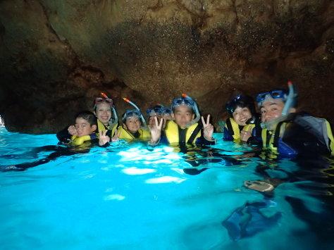 8月16日水納ブルーに青の洞窟_c0070933_21531851.jpg