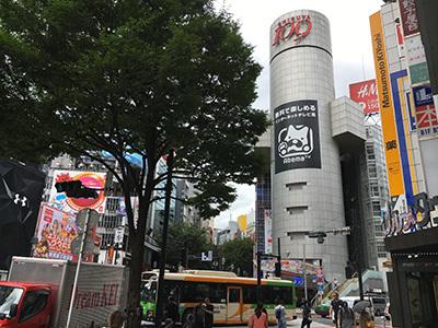 8月16日(火)今日の渋谷109前交差点_b0056983_15022489.jpg