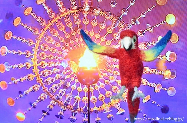 Lauraのリオ五輪羊毛フェルトとあぺりら Laura\'s Needle Felting Mascot Character of the Rio Olympics and Paralympics_d0025294_19511665.jpg