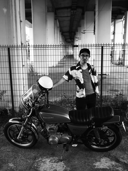5COLORS「君はなんでそのバイクに乗ってるの?」#107_f0203027_1945580.jpg