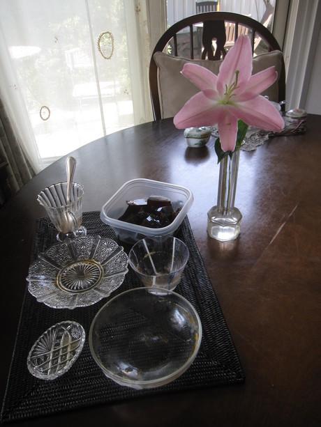 8月のお料理教室のレシピ作り&ポタジェの物で夕食_a0279743_8454625.jpg