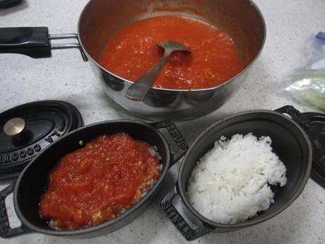 8月のお料理教室のレシピ作り&ポタジェの物で夕食_a0279743_8533348.jpg