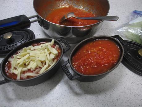8月のお料理教室のレシピ作り&ポタジェの物で夕食_a0279743_8534465.jpg