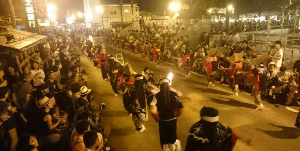 西馬音内盆踊り_f0081443_12422936.jpg