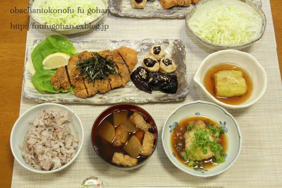 豚カツDEおうち居酒屋さん開店(*^^)v_c0326245_11370202.jpg