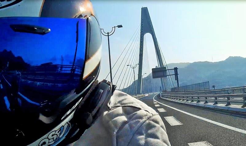 2016 暑い熱い夏ツーリング - ③ しまなみ海道 - 四国カルスト かつらツー?_c0261447_22453866.jpg