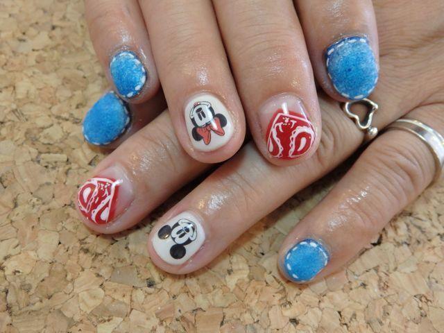 Disney Nail_a0239065_17013718.jpg