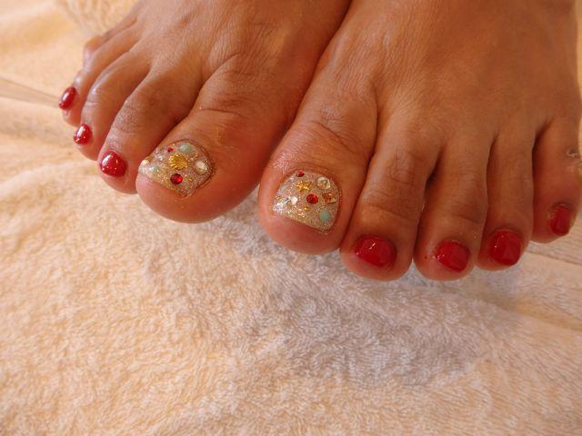 Red Foot Nail_a0239065_17031354.jpg