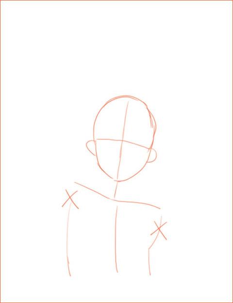 キャラクターのデッサン 2_a0342172_10084230.jpg