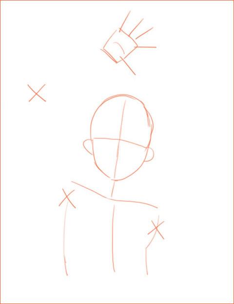 キャラクターのデッサン 2_a0342172_12321457.jpg
