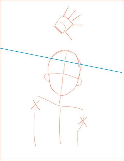 キャラクターのデッサン 2_a0342172_12322788.jpg