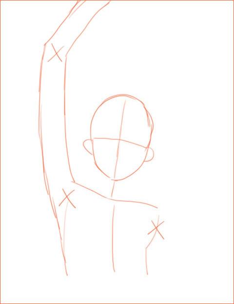 キャラクターのデッサン 2_a0342172_12331591.jpg