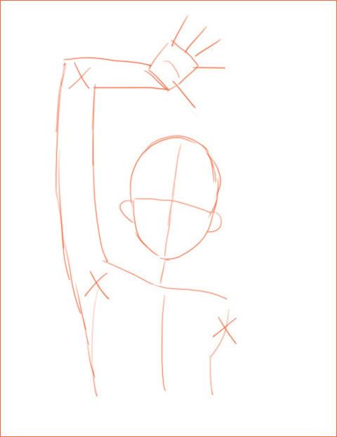 キャラクターのデッサン 2_a0342172_12332801.jpg
