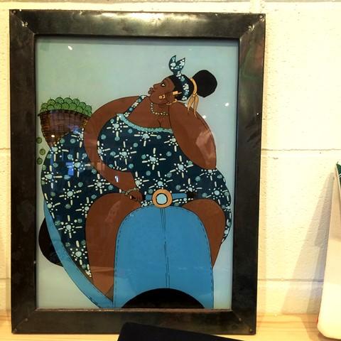 セネガルのガラス絵‐Sous verre-_b0207873_20424755.jpg