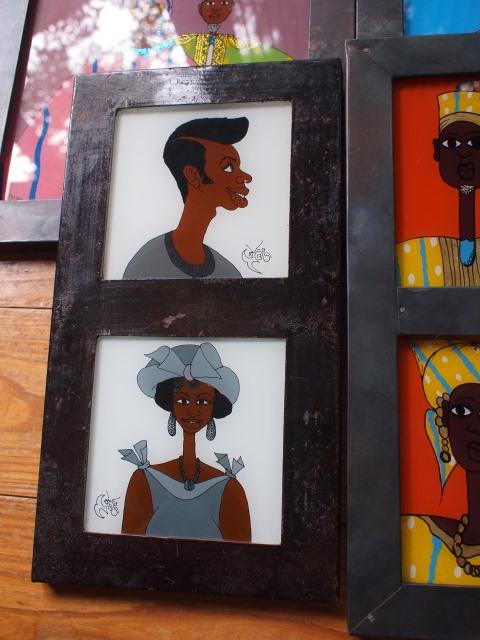 セネガルのガラス絵‐Sous verre-_b0207873_20432673.jpg