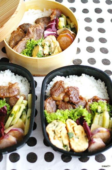 今日のイベリコ豚丼弁当_d0327373_07460167.jpg