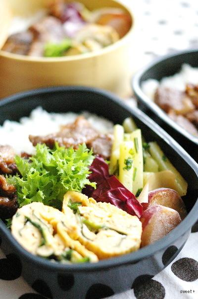 今日のイベリコ豚丼弁当_d0327373_07485244.jpg