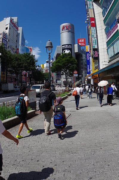 8月17日(水)今日の渋谷109前交差点_b0056983_13594789.jpg