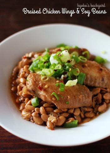 手羽と大豆の中華煮込み。今週の常備菜。_b0253205_04090065.jpg