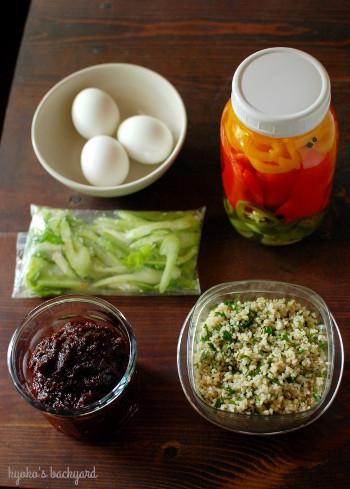 手羽と大豆の中華煮込み。今週の常備菜。_b0253205_04120005.jpg