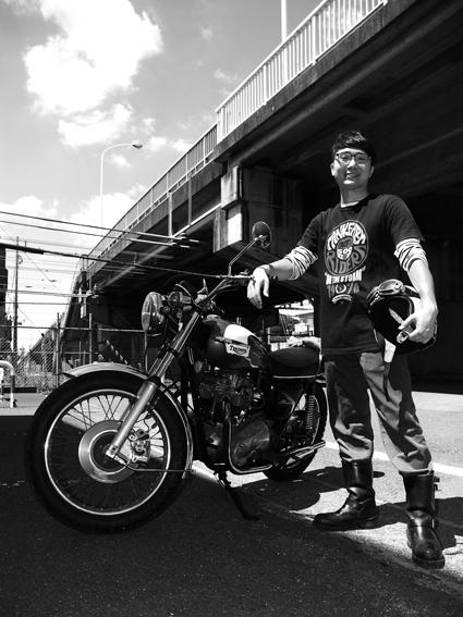 仙田 拓也 & Triumph Bonneville T140E(2016. 07.30)_f0203027_17461528.jpg