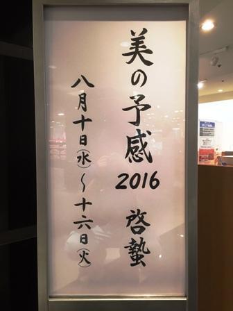作業日誌(美の予感2016-啓蟄-作品搬入陳列作業)_c0251346_17111766.jpg