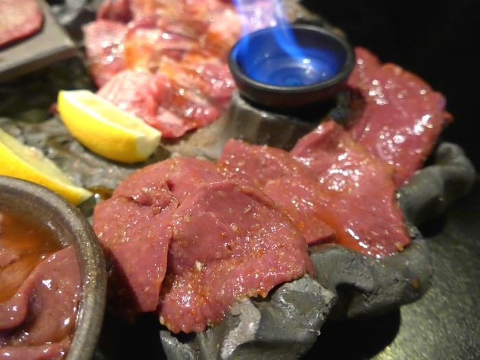 新宿三丁目「溶岩焼 薩摩屋」へ行く。_f0232060_1422370.jpg